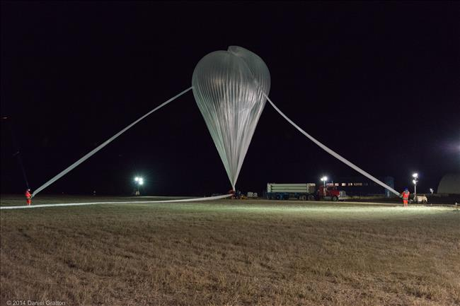Stratos: the CSA stratospheric balloon program (Credit: CSA)