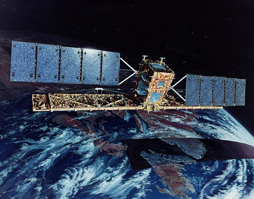 RADARSAT-1 satellite (Credit: CSA)
